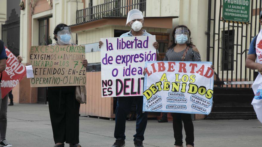 Polémica en Perú por un macroproceso contra Sendero Luminoso 20 años después del final del conflicto armado